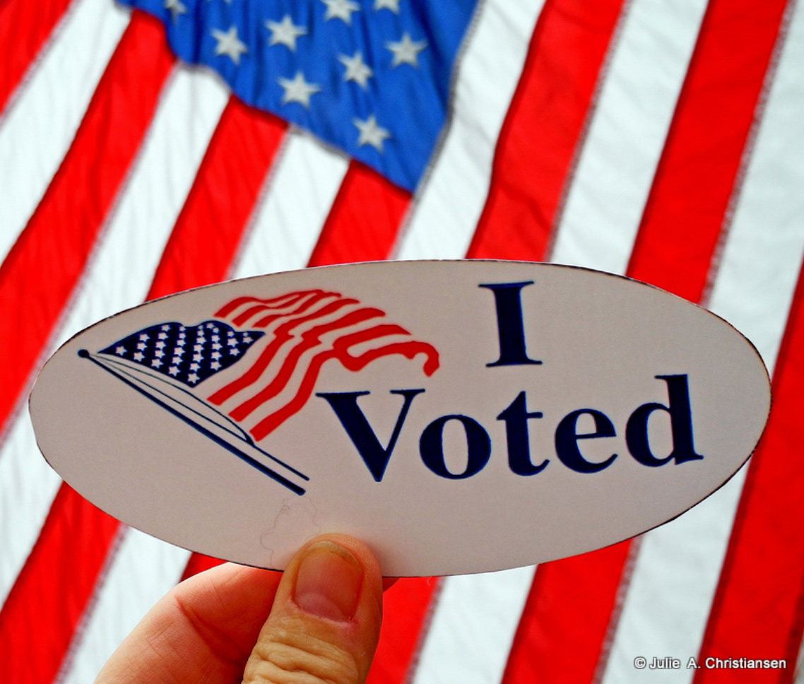 Voting Day by Julie