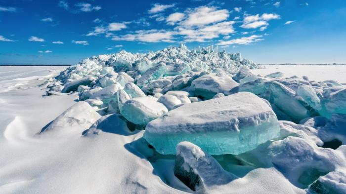 Aqua Ice by Charles Bonham