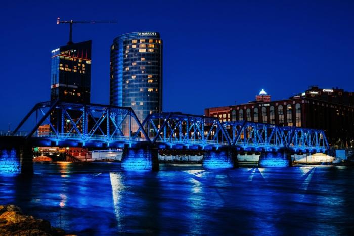 Blue Bridge by Dan Gaken