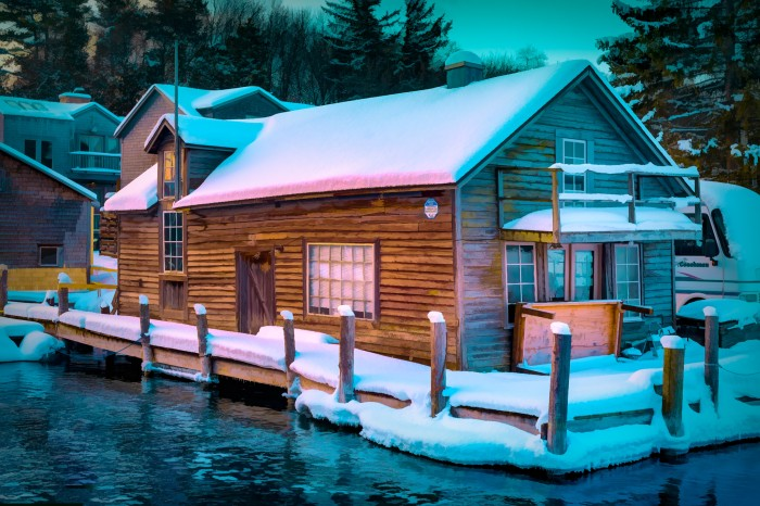 The House at the End of the Dock by Mark Smith