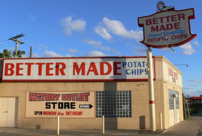 Better Made Potato Chips - A Detroit Tradition by Derek Farr
