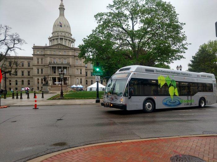 MTA Flint Hydrogen Bus