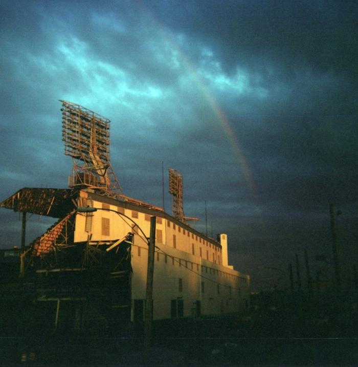 Tiger Stadium Deconstruction by Paul Hitz