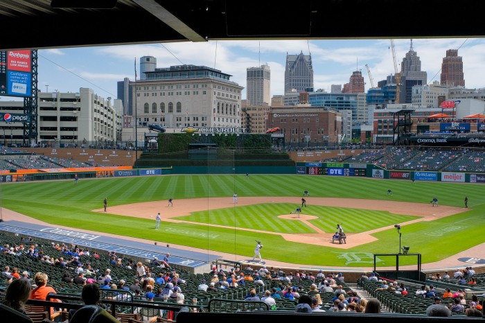 Chicago Cubs at Detroit Tigers by Dan Gaken