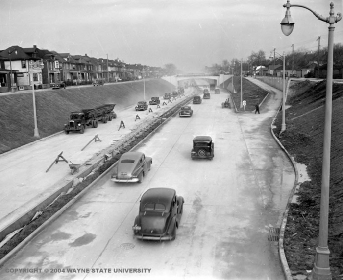 The Davison Urban Freeway by Wayne State University