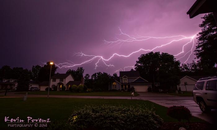 Lightning Storm by Kevin Povenz