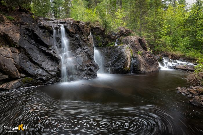 Schweitzer Falls by Michigan Nut Photography