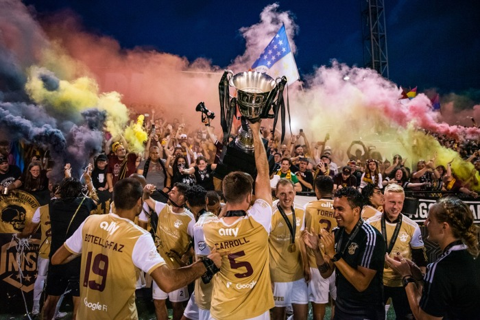 NISA Champions by Detroit City FC