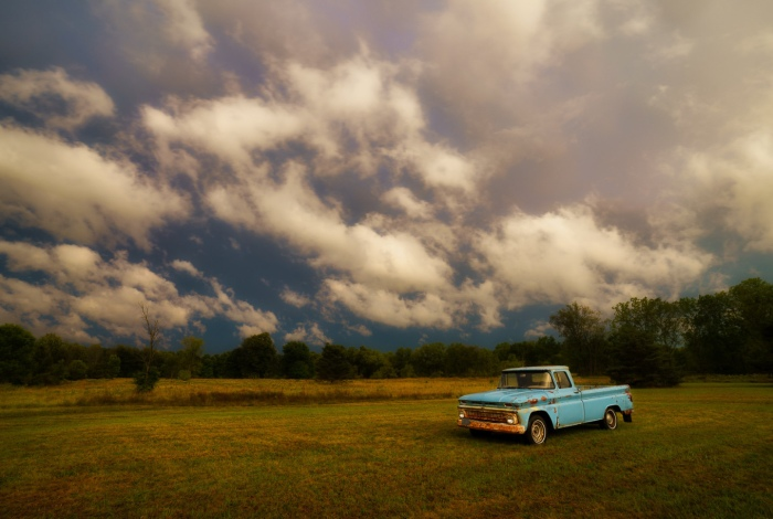 Baby Blue & Storms by Jamie MacDonald