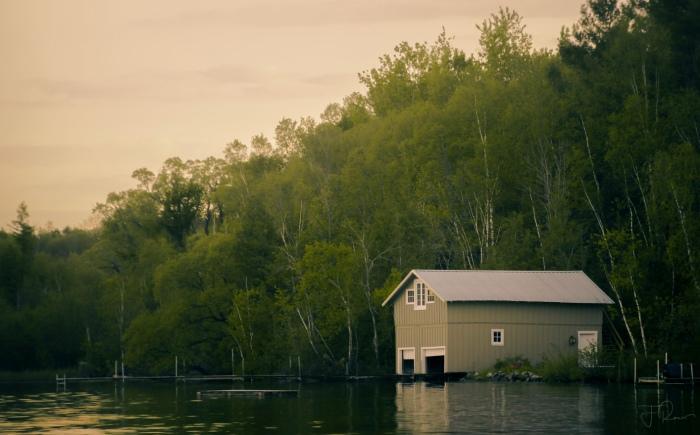 Boathouse on Leelanau by Francois
