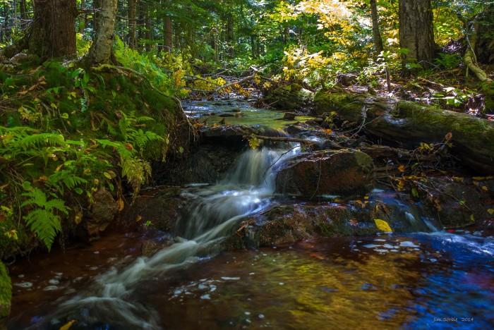 Overlooked Falls by Jim Sorbie