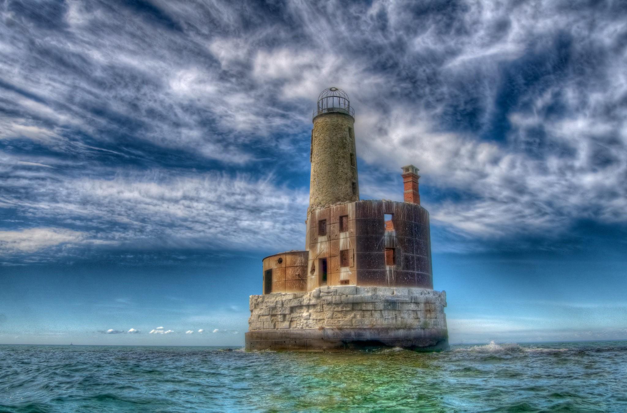 Waugoshance Lighthouse - Revision 1 by Jason Lome